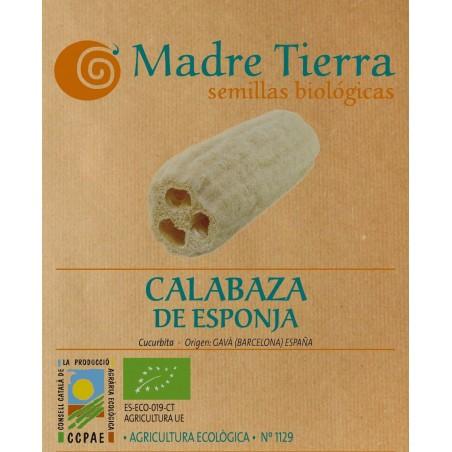 Semillas calabaza de esponja - Madre tierra - Ecovidasolar