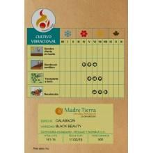 Semillas de calabacín - Madre tierra - Ecovidasolar