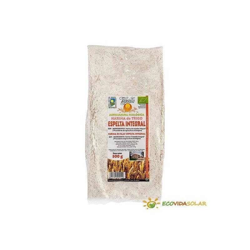 Harina de espelta integral bio de Vegetalia