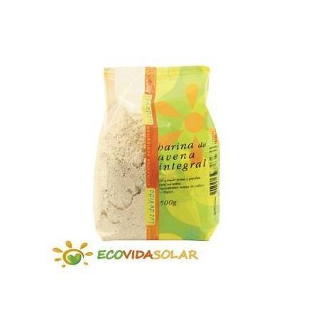 Harina de avena integral bio de Biospirit