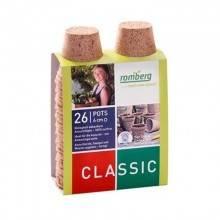 Macetas biodegradables ecológicas redondas 6 cm - Romberg