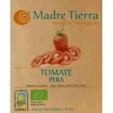 Semillas ecológicas de tomate pera - Madre tierra - Ecovidasolar