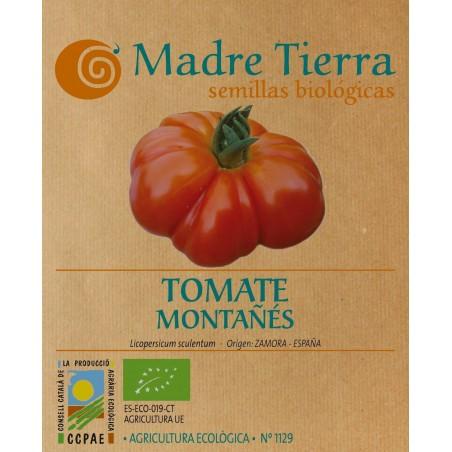 Semillas ecológicas de tomate montañés - Madre tierra - Ecovidasolar