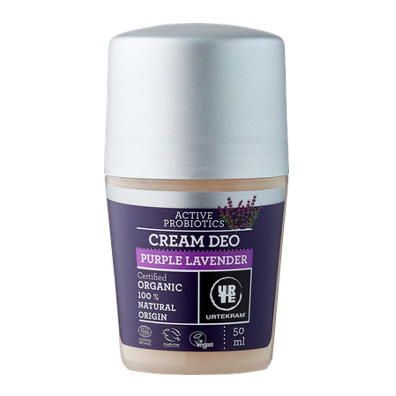 Desodorante roll-on lavanda orgánico - URTEKRAM - Ecovidasolar