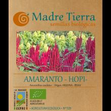 Semillas ecológicas de amaranto hopi - Madre tierra