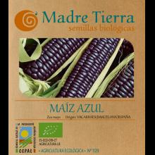 Semillas ecológicas de maíz azul hopi- Madre tierra