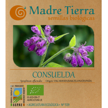 Semillas consuelda - Madre tierra - Ecovidasolar
