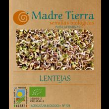 Semillas de lentejas para germinar - Madre tierra - Ecovidasolar