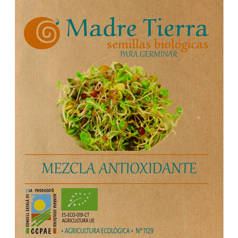 Semillas de mezcla antioxidante  para germinar - Madre tierra - Ecovidasolar
