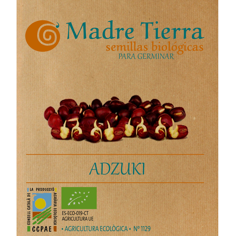 Semillas de adzuki para germinar - Madre Tierra - Ecovidasolar