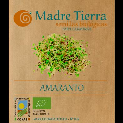 Semillas de amaranto  para germinar - Madre tierra - Ecovidasolar