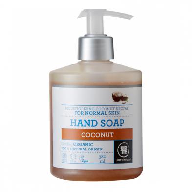 Jabón de manos coco orgánico - URTEKRAM - Ecovidasolar