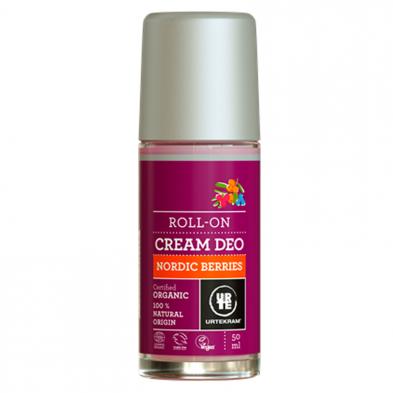 Desodorante roll-on frutos nórdicos - URTEKRAM - Ecovidasolar