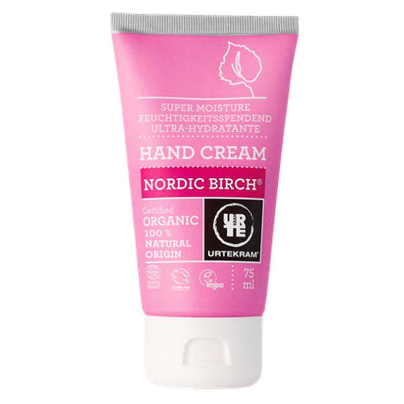 Crema de manos abedul nórdico - URTEKRAM - Ecovidasolar