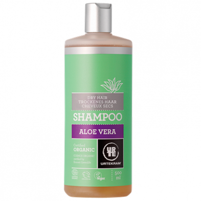 Champú de aloe vera cabellos secos - URTEKRAM - Ecovidasolar