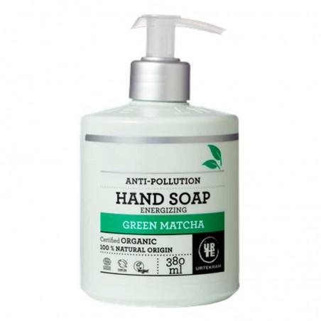 Jabón de manos matcha orgánico - URTEKRAM
