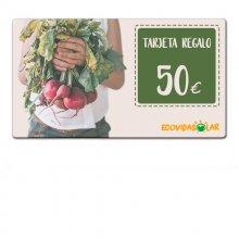 Tarjeta regalo 50€ - Ecovidasolar