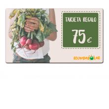 Tarjeta regalo 75€ - Ecovidasolar