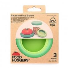 Tapas de silicona para comida y recipientes - Food Huggers
