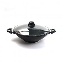 Wok anti-adherente para cocinas de inducción, gas y vitrocerámica - Skk
