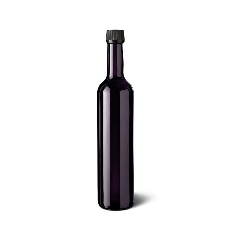 botella-vidrio-reutilizable-violeta-oscuro-aceite-vinagre-Violett-Miron-Glass-Ecovidasolar