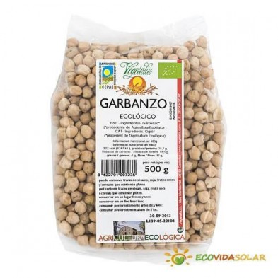 Garbanzo bio Vegetalia