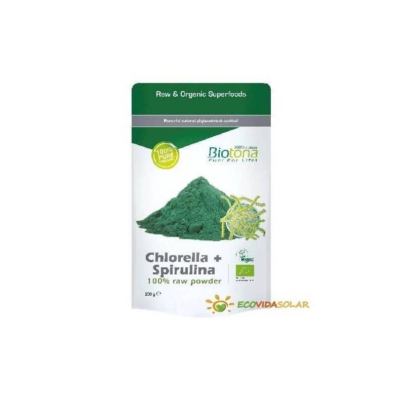 Chlorella + Spirulina de BIOTONA