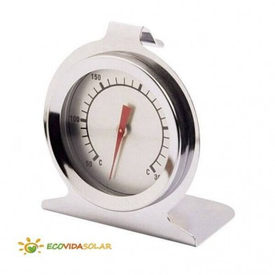 Termómetro para horno solar