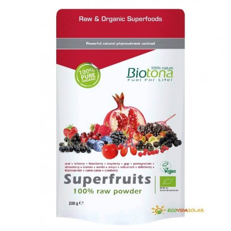 Super Fruits Raw - Biotona