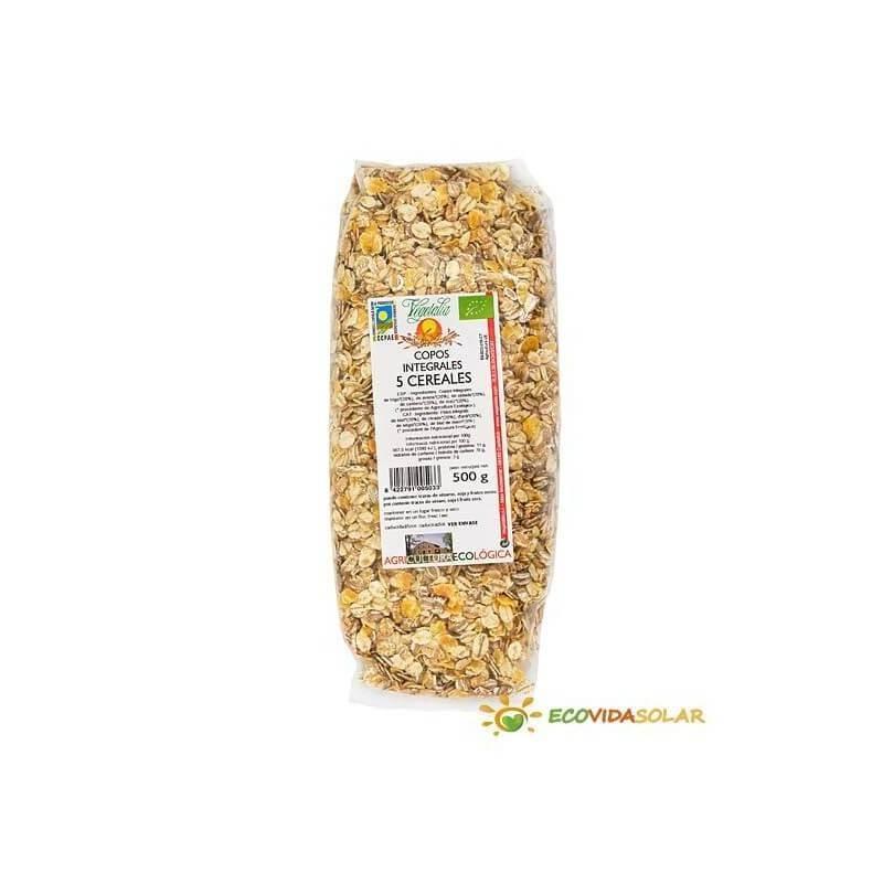 Copos Integrales 5 cereales - Vegetalia