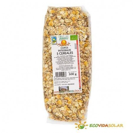 Copos Integrales 5 cereales - Vegetalia