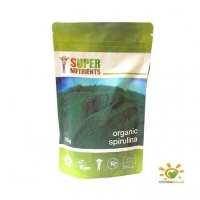 Spirulina organica en polvo - Super Nutrients