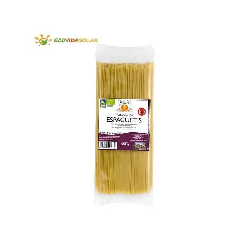 Espaguetis bio pasta blanca- Vegetalia