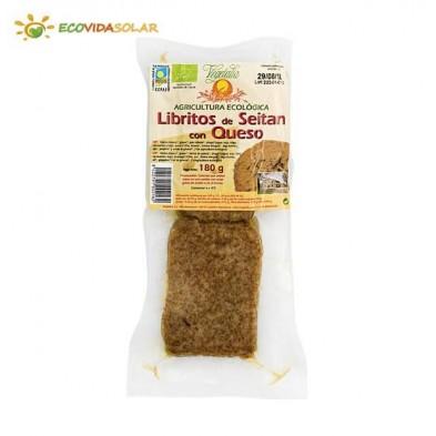 Libritos de seitan con queso bio - Vegetalia