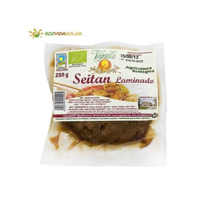 Seitan laminado bio - Vegetalia