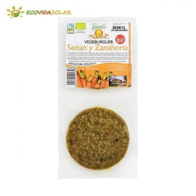 Vegeburger de seitan con zanahoria bio - Vegetalia