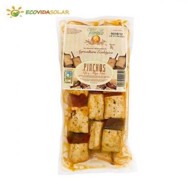 Pinchos de tofu y alga nori bio - Vegetalia