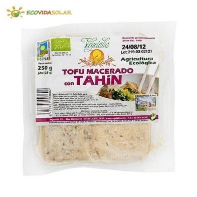 Tofu macerado con tahín bio - Vegetalia