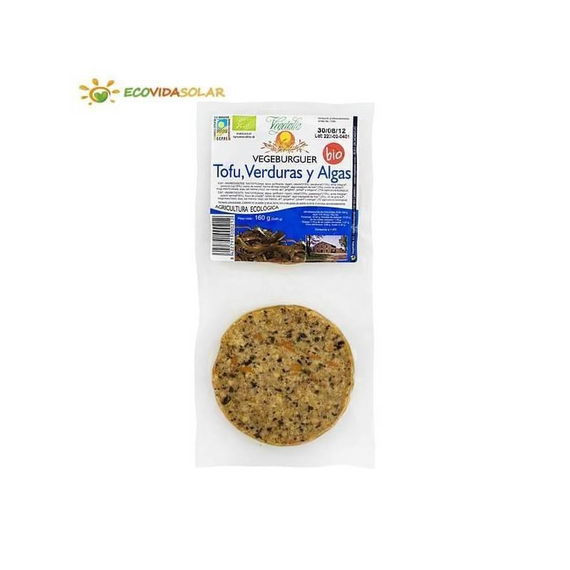 Vegeburguer de tofu con algas bio - Vegetalia