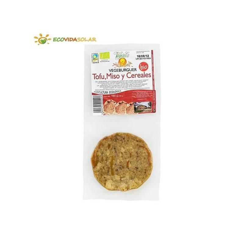 Vegeburguer de tofu con miso y cereales bio - Vegetalia
