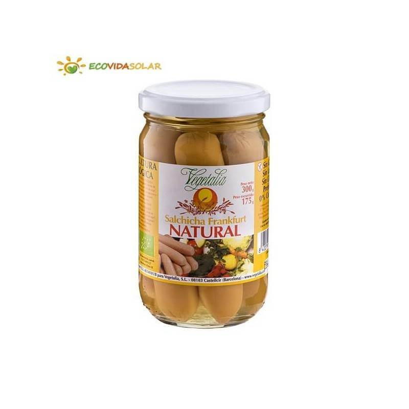 Salchicha frankfurt natural bio - Vegetalia
