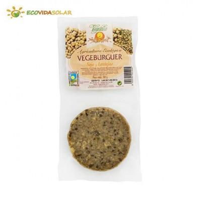 Vegeburguer de soja con lentejas bio - Vegetalia