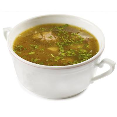 Sopas calientes y saludables