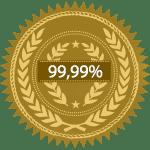 Certificado de cobre al 99,99% de pureza