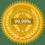 Certificado de Oro con una pureza al 99,99%