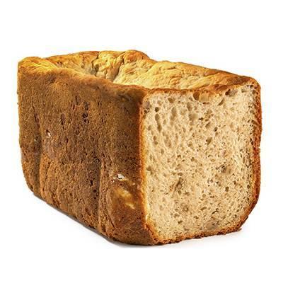 Pan estándar sin gluten