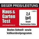 Test de calidad Haus & Garten