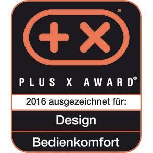 En 2016 recibe el premio de plus x award por el diseño