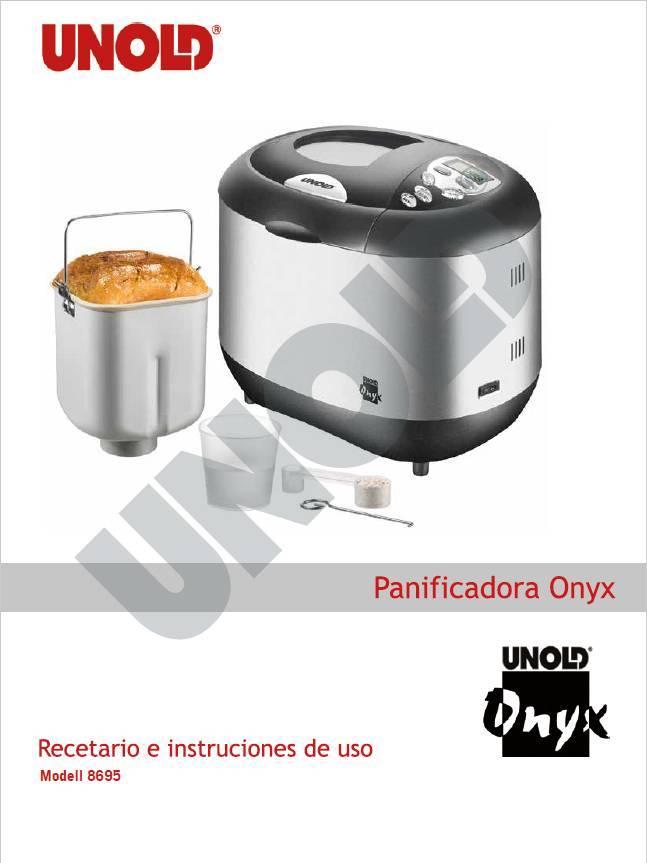Recetario y manual de usuario en español