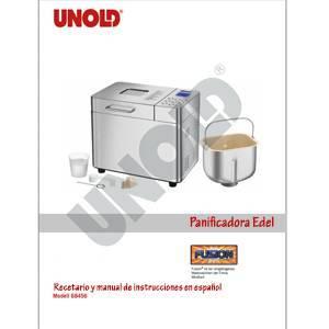 Recetario y manual de instrucciones en español